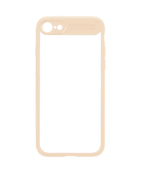 Чехол для iPhone InterStep iPhone 7/8 PURE-CASE ADV бежевый